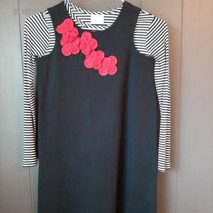 Girls Hanna Andersson Dress size 140 2pcs